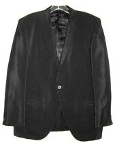 Lebow Brothers Boston Black Sports Jacket Vintage 1960's Size small- med.