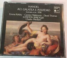 Charles Medlam  Handel Aci, Galatea e Polifemo  Harmonia Mundi Double CD