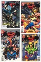 (Lot Of 4) Superman/Batman #4-7 DC Comics Jan 2004 Loeb McGuinness Vines All NM
