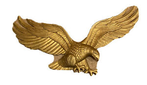 """Whitehall 29"""" Wall Eagle Wall Art  Antique Brass Color"""