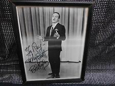Old Vtg BOB HOPE AUTOGRAPHED PHOTOGRAPH Celebrity Comedian Comic TV Personaliity