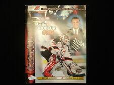 Martin Brodeur Autographed 2000 NJ Devils vs. LA Kings Program - JSA