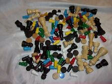 BAG OF ASSORTED GAME PIECES