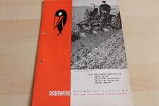 144544) Rabewerk Dreipunkt Beetpflüge Prospekt 09/1968