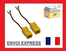 2 Cables enceinte haut-parleur  Alfa romeo / Citroen / Fiat/ Lancia / Peugeot