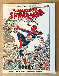 1986 Marvel Comics TPB the Amazing Spider-Man Hooky Graphic Novel