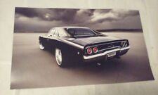 1968 Dodge Charger R/T Muscle Car Picture Poster Single Page from a new Calendar