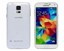 Coque Housse Etui Silicone Transparente Souple Samsung Galaxy S5 Neuve