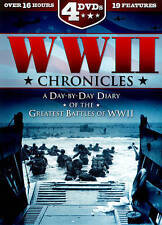 WWII Chronicles: A Day-By-Day Diary of the Greatest Battles of WWII (DVD, 2014)