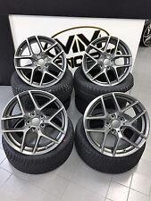 19 Zoll Borbet Y Felgen 5x114,3 et45 Titan für Lexus GS Suzuki SX4 Toyota Rav4
