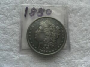 1880  Morgan  Silver Dollar  Toned Uncirculated  Free Shipping