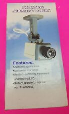 Imitation Security Camera- Battery Operated - Motion 1G