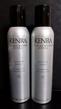KENRA VOLUME MOUSSE EXTRA FIRM HOLD #17, 8 oz (226 g) each - 2 Bottles