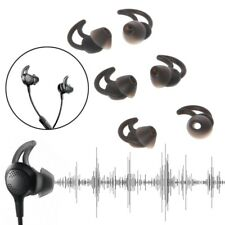 3 Pairs Silicone Earbud Eartp With Hook For Bose QC30 SIE2 IE3 Wireless Earphone