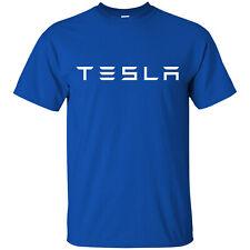 Tesla Motors Emblem T-Shirt New Unisex