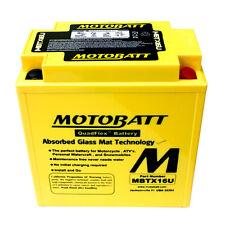 Batería mejorada MBTX16U Motobatt Suzuki VL1500 Vz Intruder 98-11