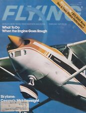 Flying Magazine (Feb 1977) (Rough Engine, Cessna 182, Sperber RF5B, Rotorway)