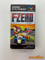 F-ZERO Nintendo Super Famicom SNES SFC JAPAN Ref:314906