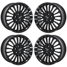 "18"" FORD FUSION BLACK WHEELS RIMS FACTORY OEM 2017 2018 2019 SET 10121 EXCHANGE"