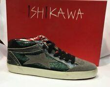 ISHIKAWA sneakers scarpe shoes n. 37 uomo man ISK07M VERDE GRIGIO 6890d6467c0