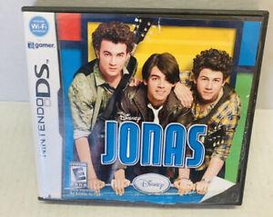 Jonas (Nintendo DS, 2009). Video Game. Disney Jonas Brothers