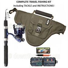 NGT NAMAZU Mini Lightweight Telescopic 5ft Travel Fishing Rod and Reel Combo
