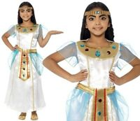 Childrens Girls Deluxe Cleopatra Fancy Dress Costume Egyptian Outfit by Smiffys