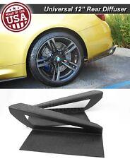 """12"""" G3 Rear Bumper Lip Wing Apron Splitter Diffuser Canard w/ Vent For  Dodge"""