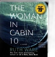 RUTH WARE - The Woman In Cabin 10 - 9xCD Audiobook *Read By Imogen Church*