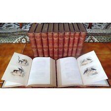 Oeuvres Complètes de BUFFON par M. FLOURENS en 12 Tomes Gravures couleur 1853