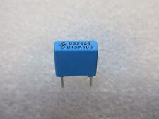 10 condensateurs MKT 0,15uF 150nF 100V Siemens