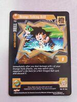 DBZ CCG DRAGON BALL Z GT BLUE BLURRED IMAGES DRILL #178 LIMITED ALT FOIL CARD 04