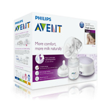 Philips ADVENT SINGLE ELECTRIC BREAST PUMP Natural SCF332/01 NEW