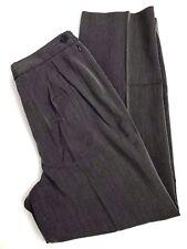 JUDITH HART Collection Women's Dress Pants Gray Sz 10S Side Zipper Elastic Waist