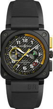 BR 03-94 RS17   NEW BELL & ROSS INSTRUMENTS BR 03-94 CHRONOGRAPHE MENS WATCH