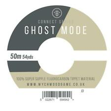 WYCHWOOD GHOST MODE FLUOROCARBON FLY FISHING TIPPET LINE - 50M SPOOL