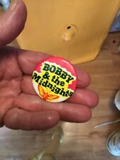 Bobby & The Midnights Pin -Bob Weir '80's -Grateful Dead