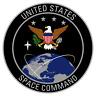US Space Command Logo Vinyl Sticker 3 inch diameter