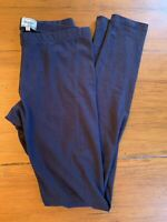 Lot Of 2 Mayoral Girl Size 16 Blue And Gray Cotton Leggings