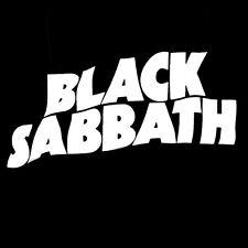 Black Sabbath sticker decal die-cut music