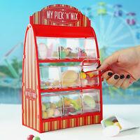 Süßigkeitenautomat Retro Edition, roter Weingummi Spender, Fruchtgummi Maschine