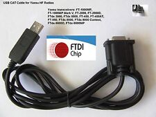 FTDI USB CAT Cable for Yaesu FTdx-1200 FTdx-3000 FTdx-5000 FTdx-9000 FT-991 991A