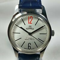 Vintage Roamer Mechanical Hand Winding Movement  Mens Wrist Watch AC103