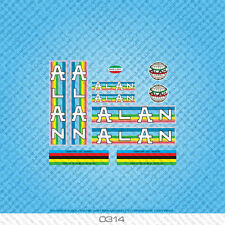 Alan Bicycle Decals - Transfers - Stickers - Set 314