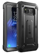 Samsung Galaxy S8 Full-Body Active Case Holster Cover Belt Clip Shockproof Black