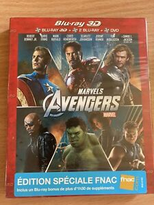 Avengers blu ray 3D edition speciale Fnac
