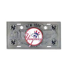 New York Yankees 3D Collector's License Plate MLB Licensed Baseball