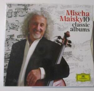 MISCHA MAISKY 10 Classic Albums (11 CDs, 2013, Deutsche Grammophon) Still Sealed