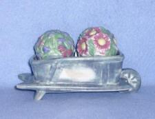 Sonoma Home Goods In the Garden Figural Salt & Pepper Set Flower Cart Holder