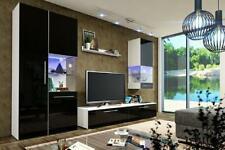 High Gloss Wall Unit Living Room Wardrobe Display Case Sideboard Wohnwände
